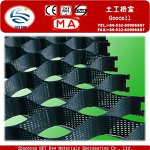 Tapis de graines herbeuses 50mm - 200mm Cell Depth HDPE Plastic Geocell à la vente