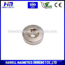 round N52 strong NdFeB magnet with countersunk hole