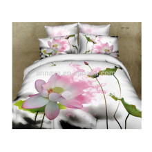 Woven Technics 3D Duvet Cover Bedding Set Water Lily 2014 New Products