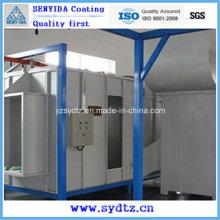 Cabine de pulverizador quente do pó da máquina de revestimento do pó / linha / equipamento