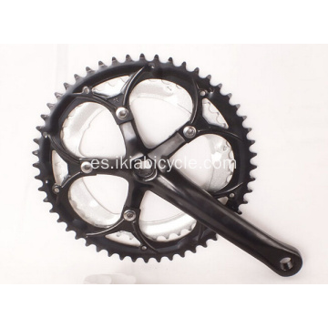Bike Chainwheel and Crankset with Plastic Chainguard