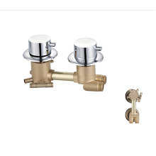 Manufacturer customize forged brass mixer faucets bathroom shower faucet
