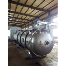 Apple Puree Microwave Vacuum Dryer / Pengeringan vakum