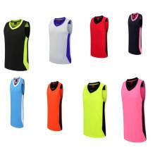 OEM Sublimación de moda Baloncesto Jersey Uniforme Diseño