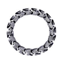 Pulseiras de corrente de pulso homens góticas & punk estilo inoxidável jóias