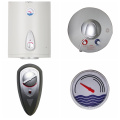 Wall Mounted Electric Water Heater With Enameled Tank And Stainless Steel 310S Heating Element