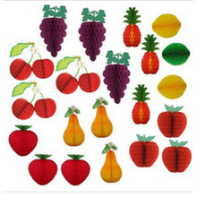 2015 Tissue Paper Fruit Honeycomb Decoration Kit