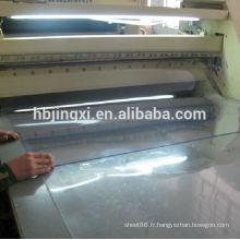 Feuille rigide expulsée de PVC transparent, feuille de PVC claire