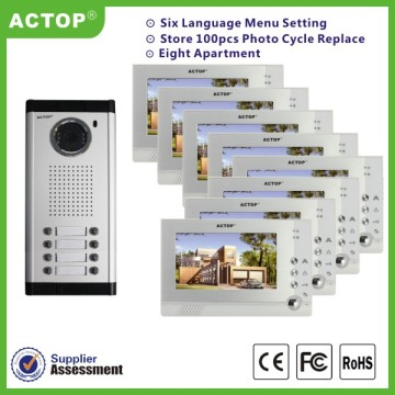 Building Intercom System for Villa e Apartamento Pequeno