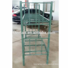 Strong and Stable Green color military style bunk beds