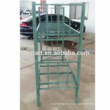 Сильный и стабильный зеленый цвет в стиле милитари двухъярусные кровати