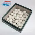 NX china dureza 9,5 bolas de cerámica de alúmina inertes (embalaje químico) catalizador bola de cerámica de apoyo