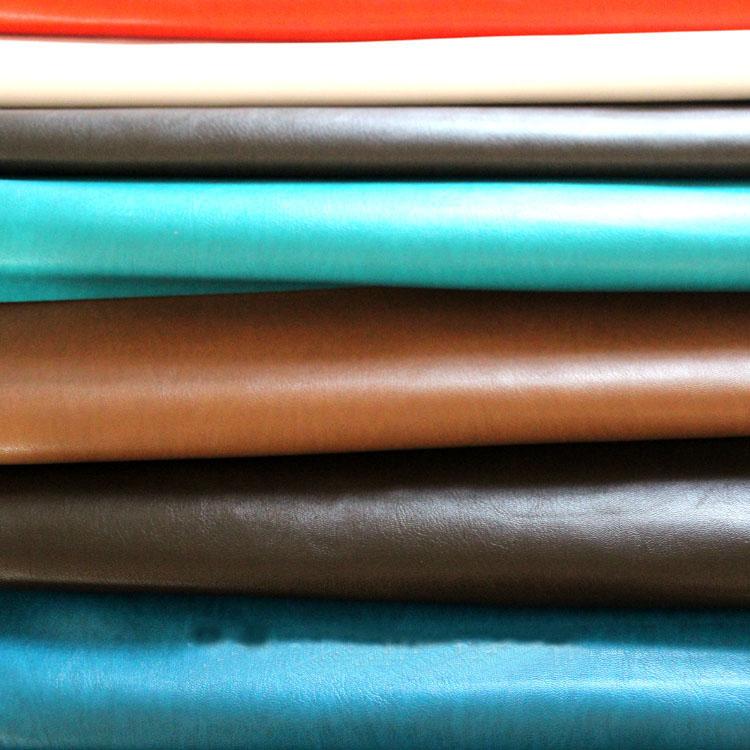 cross texture high glossy pu leather