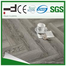 Pridon Herringbone Series Rz006 Plus Revêtement de sol stratifié à texture