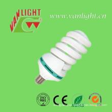 T5 T6 125W 45W de alta potencia Ful CFL lámpara ahorro de energía espiral luz