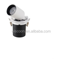 Factory wholesale 12W ceiling led spot downlight adjustable recessed