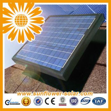 Nuevos ventiladores solares del ático del diseño hechos en China