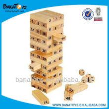 Inteligência dobra de madeira brinquedos de alta