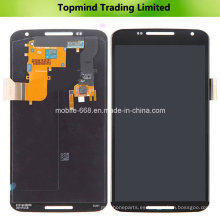 Pantalla LCD del teléfono móvil para Motorola Nexus 6 con pantalla táctil