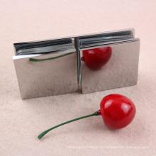 Квадрат 180 градусов Латунь материал стеклянная дверь шарнир крепления струбцины