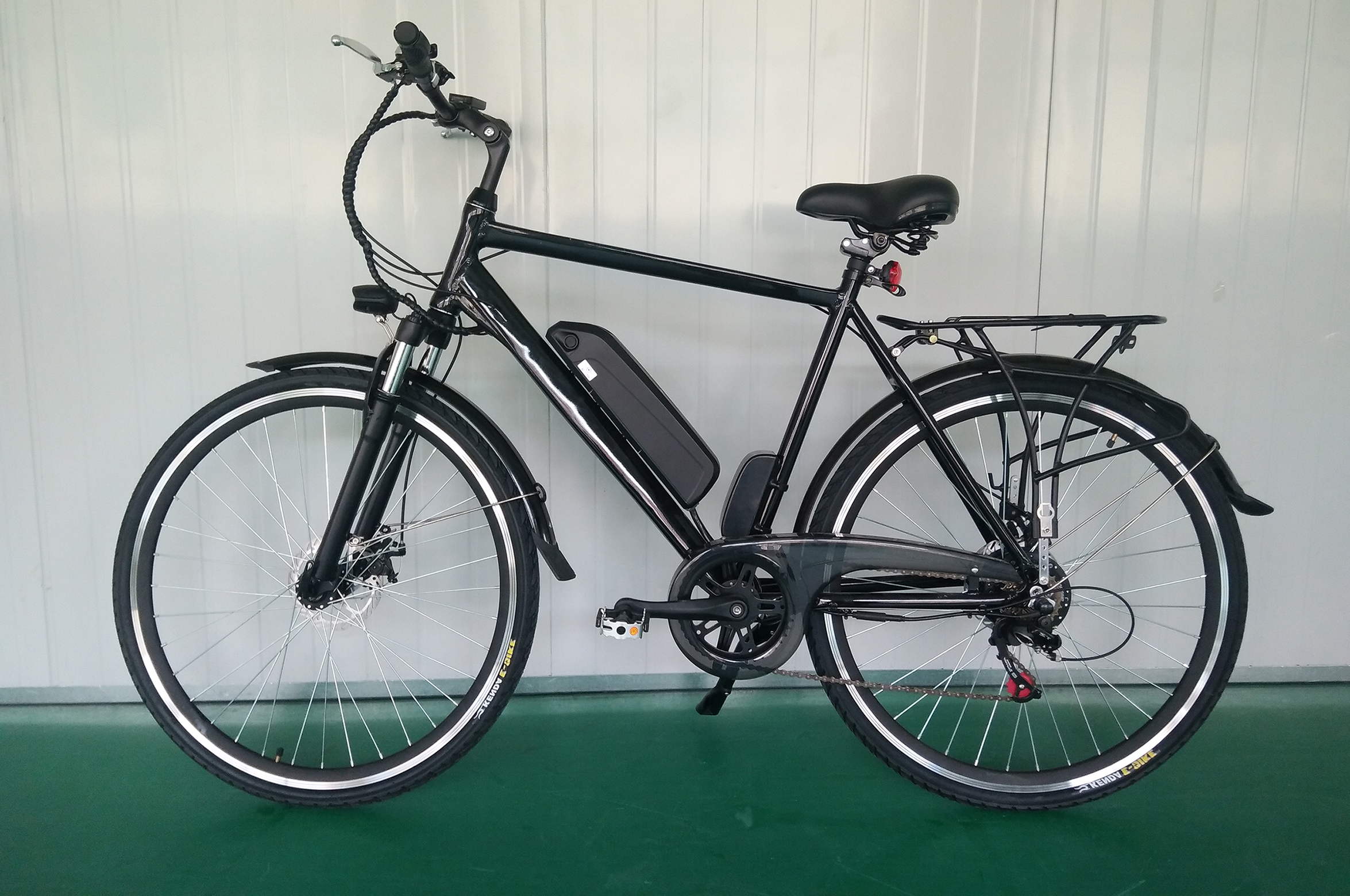 Six speed changed electric bicycle