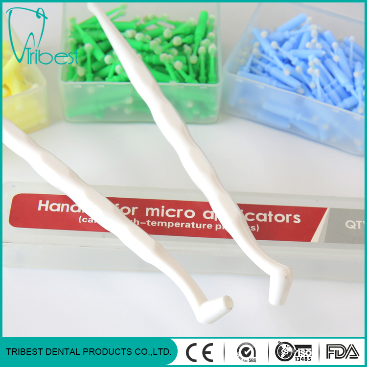 Hantera uppsättning Dental Disposable Micro Brush Applicator