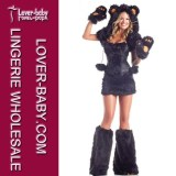 Sexy Bear Catsuit Costume Animal Costume (L1428-1)