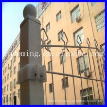 DM Double clôture en treillis métallique 2D classique