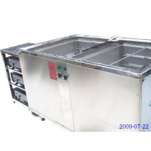 double tanks type ultrasonic cleaner for sales