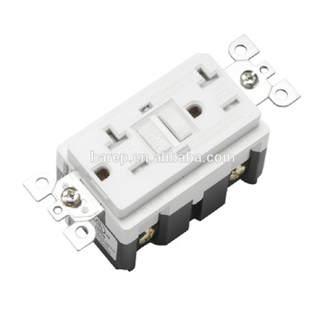 YGB-095 Household TR 20A 2LED gfci receptacles