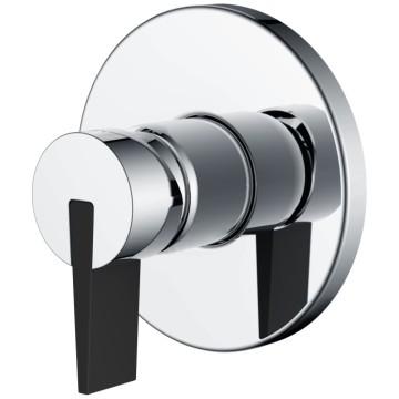 Mitigeur de douche encastré en acier inoxydable SUS304 pour salle de bain