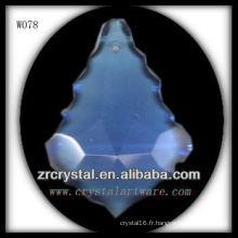 pièces de lustre en cristal
