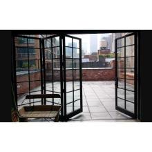 Декоративные алюминиевые складывающиеся двери