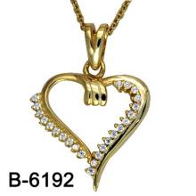 Neue Design Modeschmuck 925 Sterling Silber Anhänger Halskette
