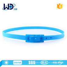 2015 Blue Color Ladies Silicone Rubber Belts