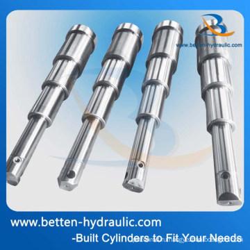 Многоступенчатые гидравлические цилиндры для самосвала