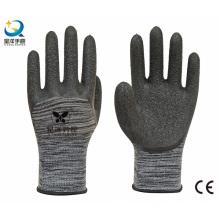 13G Polyester Liner Latex 3/4 Gant de sécurité revêtue