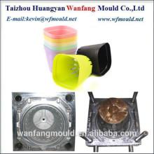 oem factory design flower pot mold/cheap price plastic flower pot injection mold
