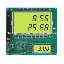 Zcheng 2 In1 Verkauf Liter Display Board Bildschirm (gelber Hintergrund)