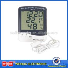 Termómetro digital con humedad con Aclock con Lagar Termómetro digital de pantalla Higrómetro TA218A