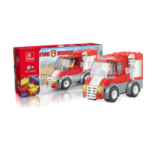 Firefighters Series Designer Fire Engine Rescue Block Toys