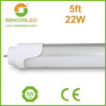Perfil de aluminio tira de 150 cm LED T8 bombillas de tubo