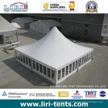 Tente carrée en aluminium de crête élevée pour la partie extérieure d'événement