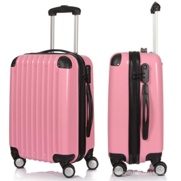 Pink Luggage Sets with Fitting Corner