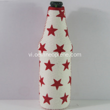 Bán Hot Star Portable Neoprene Bia Coolers