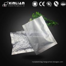 heat seal aluminum foil plastic silver vacuum bag