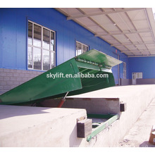 Manufacturer supplier 10t stionary yard ramp used for cars truck forklift