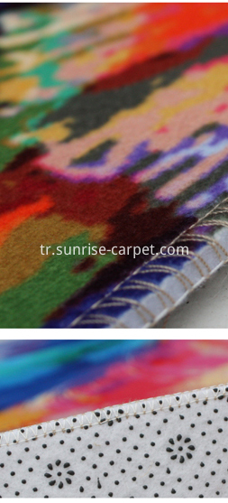 Heat Transfer Carpet Rug