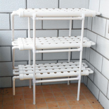 Jardin 3 couches PVC NFT Hydroponics Equipment