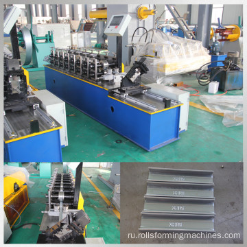 Steel stud track roll forming machine
